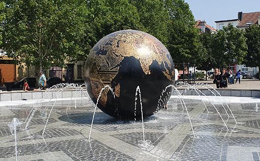 Fontein design Fountain Factory