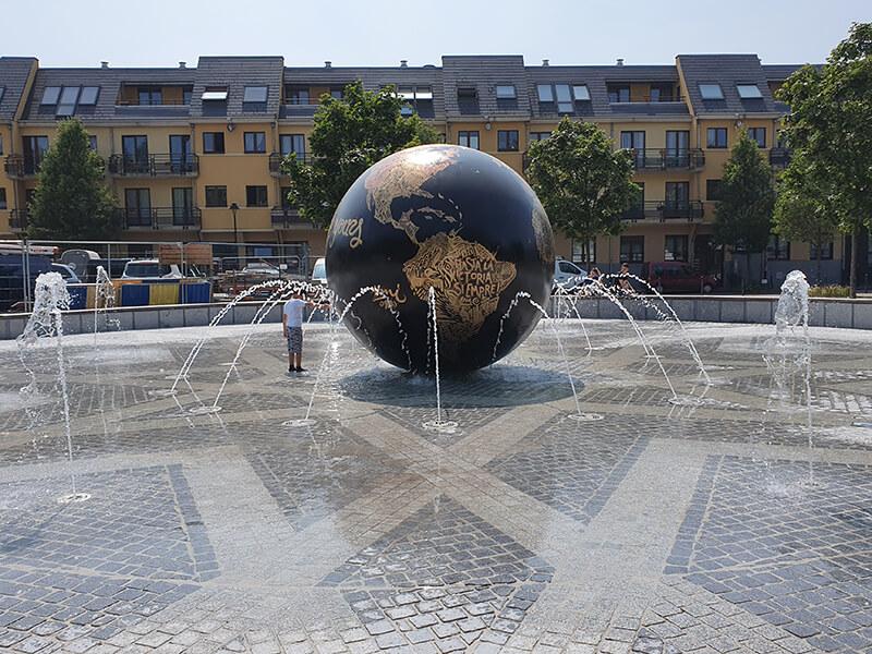 Fontein Clemenceauplain Anderlecht Fountain Factory 01