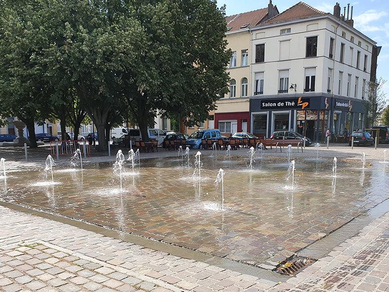Fontein Ninoofse Poort Fountain Factory 01