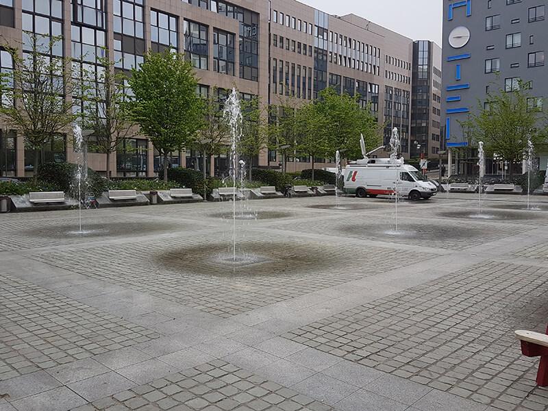 Jean Rey Plein Onderhoud Fountain Factory 01